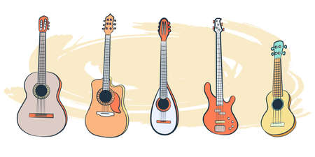 Set of Musical Instruments