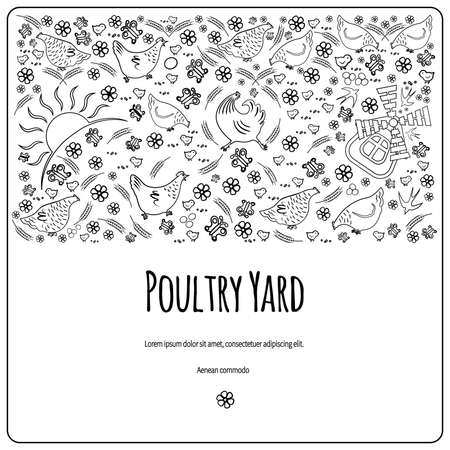 Poultry Yard template design