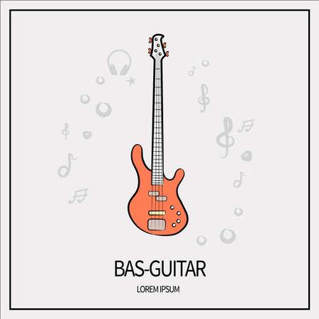 bass guitar icon