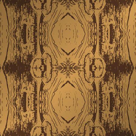 seamless pattern wooden brown