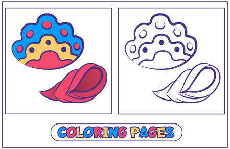 Marine inhabitants coloring pages2