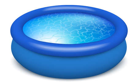 rubber pool water