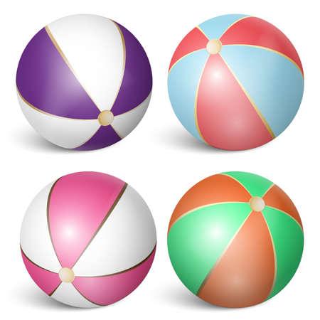 beach ball set 3 Çizim