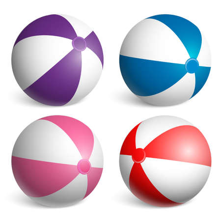 beach ball set 4