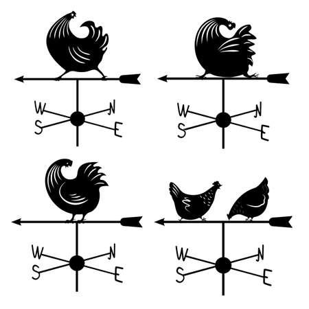 Establecer veleta de gallo