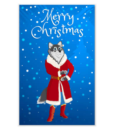 Christmas cards with characters1