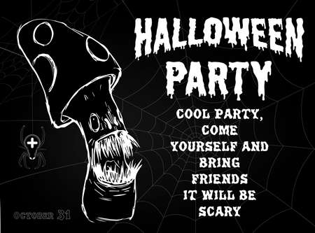 Halloween party banner2