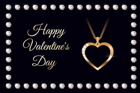 Banner valentine diamond