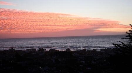 Cachagua Sunset background.