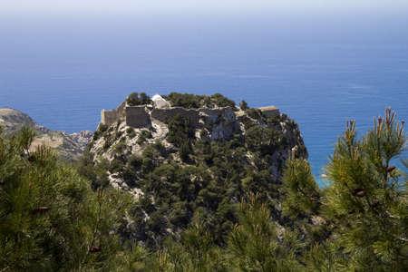 a landscape of  rhodes island