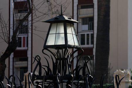 a old barcelona lantern photo