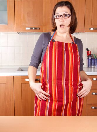 a housewife surprise Stock Photo - 17242044