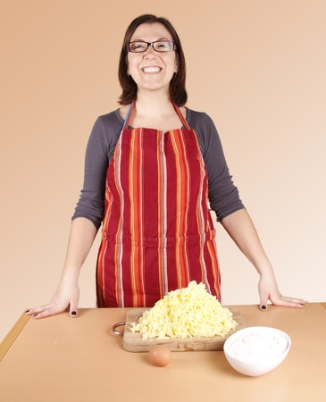 a housewife happy Stock Photo - 17242065