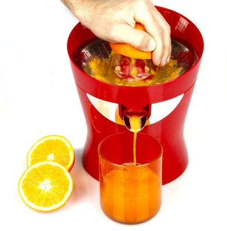 a orange juice machine photo