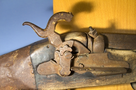 musket: a old musket dettail