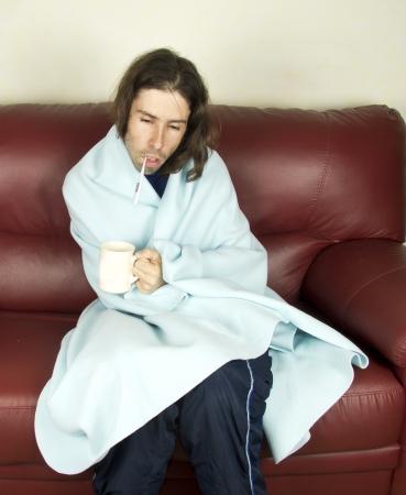 a disease men Stock Photo - 17603671
