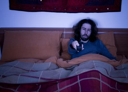 insomnio: insomnio Foto de archivo