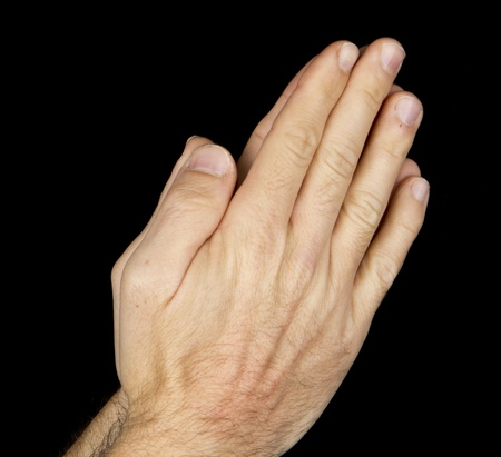 hand and pray photo