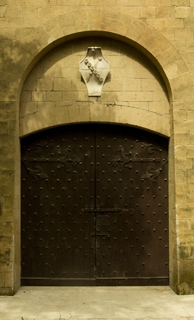 medioeval: medioeval door Stock Photo
