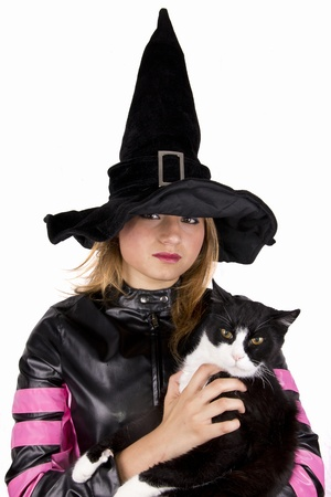 cat and witch photo