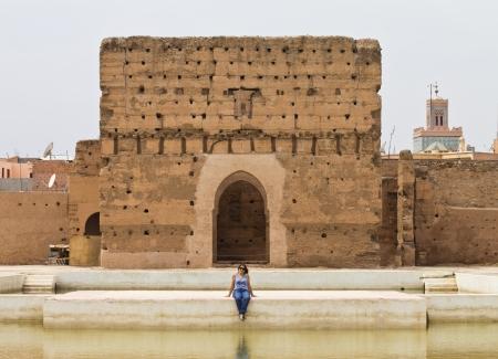 a landscape of marrakech photo