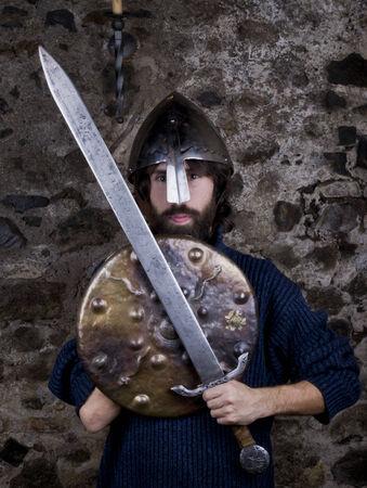 medioeval: a simple medioeval soldier