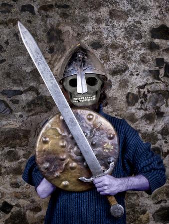 medioeval: a knight  medioeval soldier