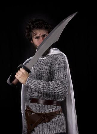 muscled: a white warrior greek