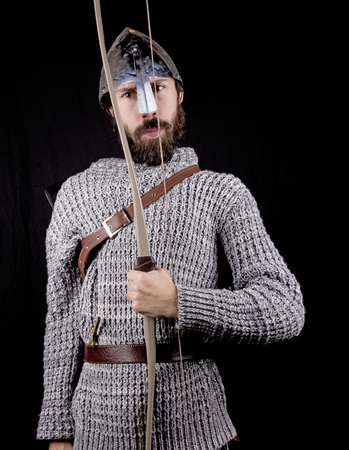 bowman: ancient bowman Stock Photo