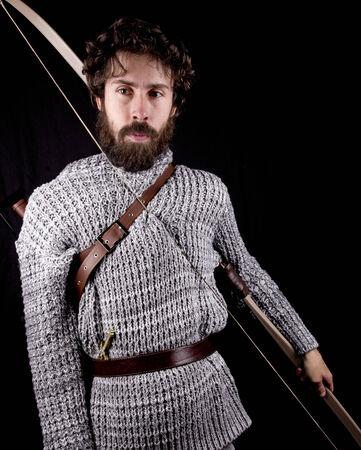 bowman: prodiere medievale Archivio Fotografico