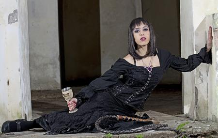 herrin: Geliebte im Ritual Lizenzfreie Bilder