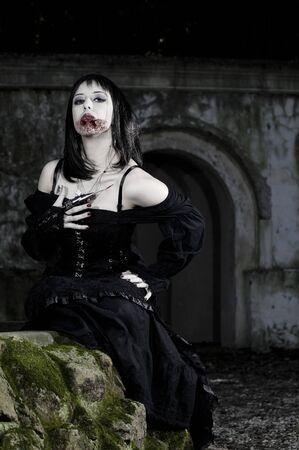 fetishes: vampire girl