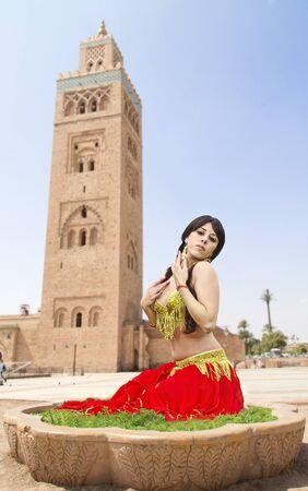 dancing girl photo