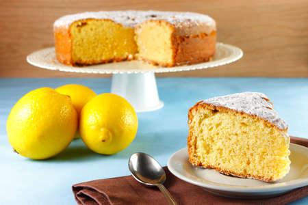 lemon cake: Lemon cake