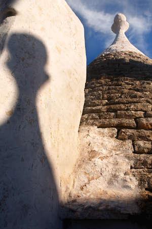trulli: Trulli roofs, Alberobello, Apulia, Italy Stock Photo