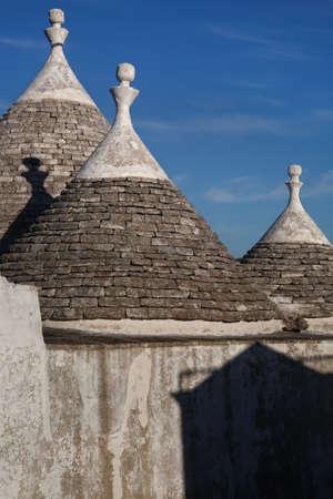 farmhouses: Trulli historical farmhouses, Alberobello, Italy