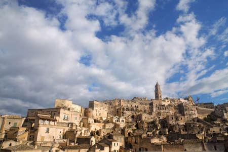 basilicata: Matera skyline, Basilicata, Italy