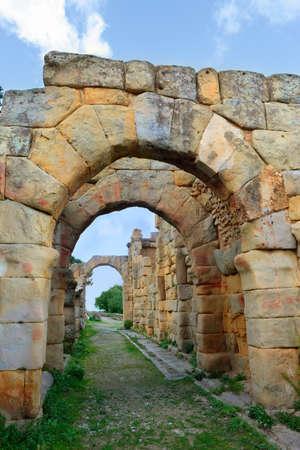 Greek Roman ruins, Tindari, Sicily, Italy
