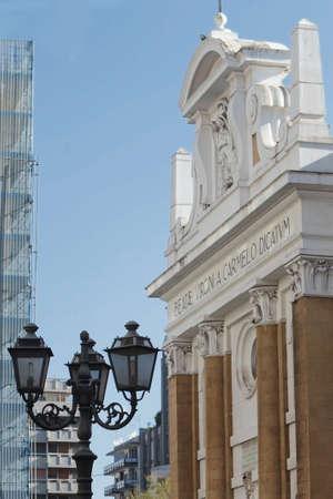 carmine: Carmine church, Taranto, Italy