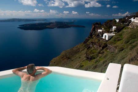 santorini island: Santorini island Greece