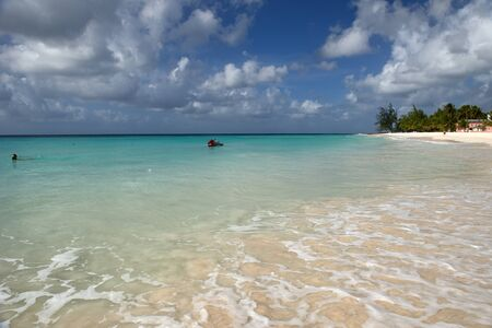 caribbean island: Beach Caribbean island of Barbados