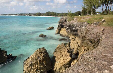 barbados: Coast of Barbados island, Caribbean