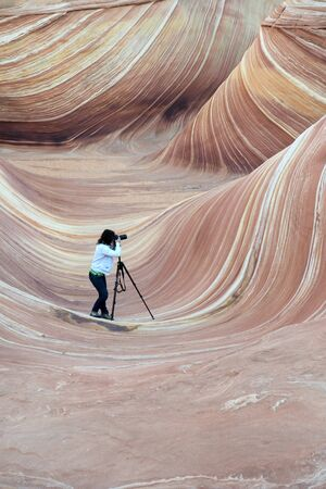 The Wave, Paria Canyon, Arizona photo