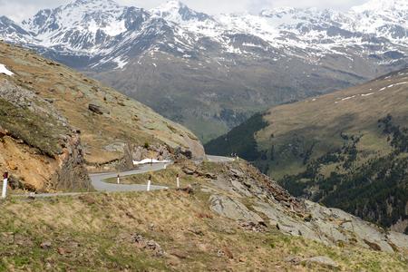 gavia: Gavia Pass, Dolomites, Italy Stock Photo
