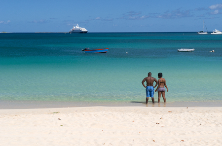 Anguilla island, Caribbean sea Stock Photo - 42825225
