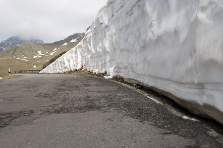 gavia: Gavia Pass, 2621 m is a high mountain pass in the Italian Alps. It is the tenth highest paved road in the Alps