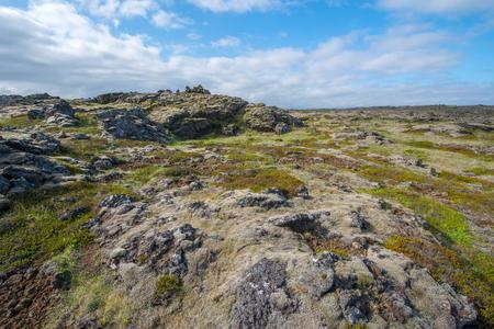 lava field: Lava field, Reykjanes peninsula