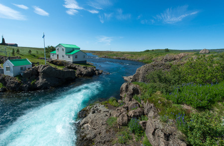 island�s: Icelandic landscape Foto de archivo