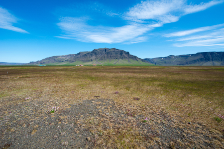 icelandic: Icelandic landscape Stock Photo