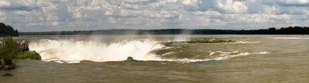 diablo: Garganta del Diablo, Iguazu falls, Argentina Stock Photo